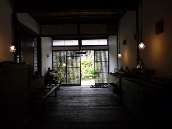 Asakura, Japon : 古民家珈琲ギャラリー「水の音 土の音」