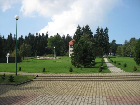 Hotel Karlow: Hotel's garden