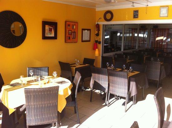 La Table du Sud : la salle du restaurant