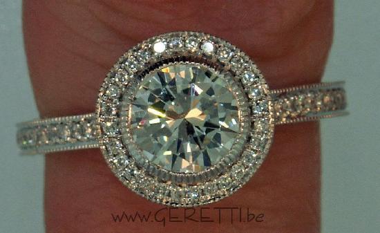 GERETTI Jewellery & Diamonds : Handmade Diamond Engagement Ring By Geretti for client in Ireland , Dublin