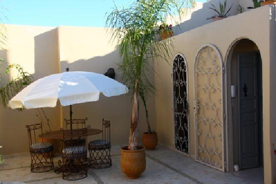 Riad Safir: la terrasse2