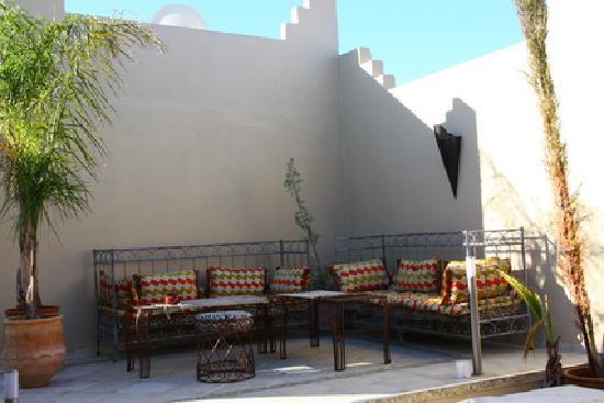 Riad Safir: la terrasse3