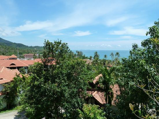 Rawi Warin Resort & Spa: Ausblick vom Zimmer