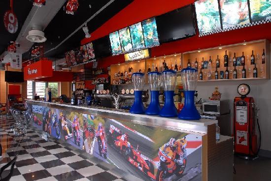 GRANDPRIX American Grill : Banco sala