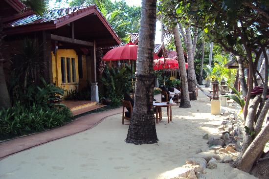 Zazen Boutique Resort & Spa: Die Strandbungalows