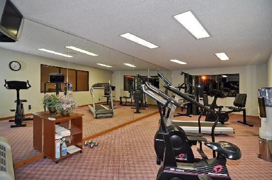 BEST WESTERN Jacksonville Inn: Fitness Room