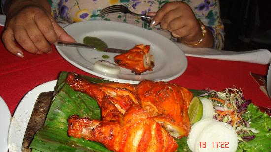 Karon Sea Sands Resort & Spa: Tandoori chiken
