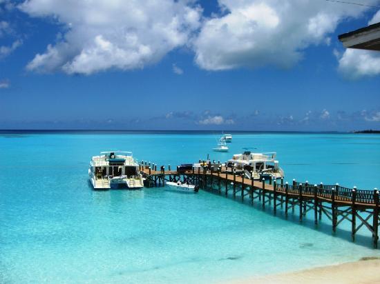 Club Med Columbus Isle: Vue du restaurant annexe....
