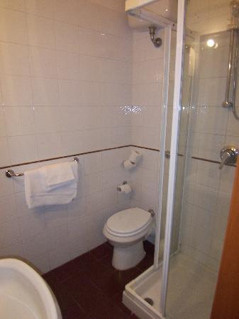 Hotel Francesco : the miniscule bathroom