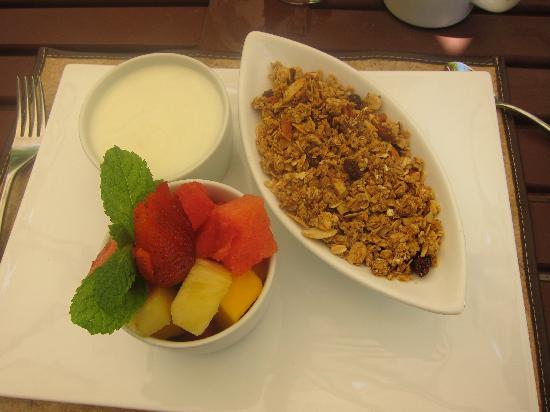 Nectar at Florblanca Resort: It's called Healthy Morning, and the yogurt is locally made and the best I'VE EVER TASTED.