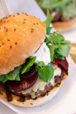 Blas Burgerworks: The Beet Burger