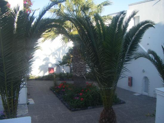 Mediterranean Beach Resort: View from our balcony
