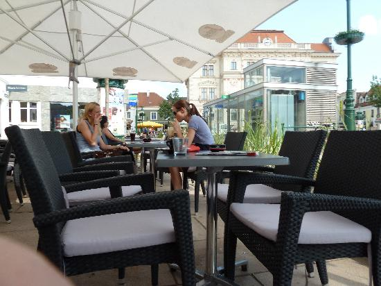 Espresso Segafredo : Garten