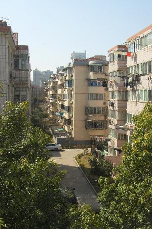 Jinjiang Inn (Shanghai Longcao): Вид из окна