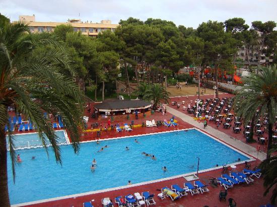 Jaime I Hotel: vue depuis le balcon