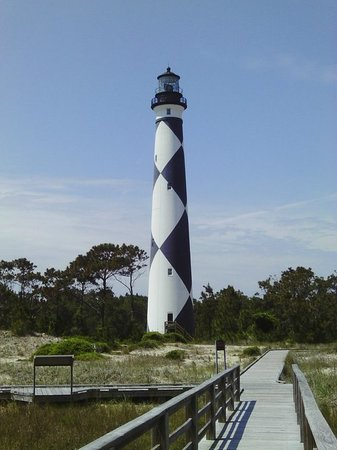 Harkers Island, Северная Каролина: Cape Lookout Lighthouse