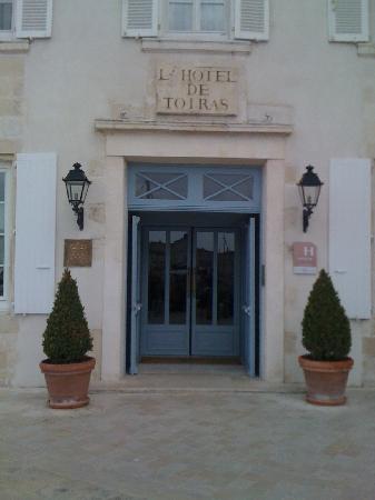 Hotel de Toiras: Devanture