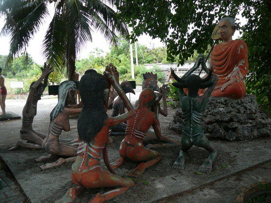 Chonburi, Thailand: always have the option to redeem the sins - even in hell
