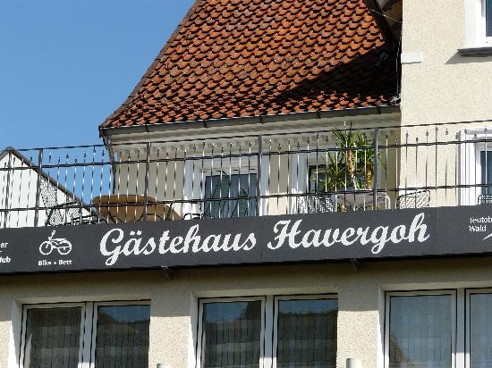 Gästehaus Havergoh: Façade de l'hôtel