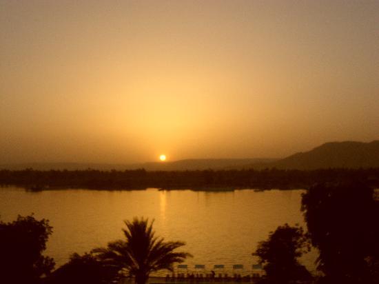 Iberotel Luxor: sunset