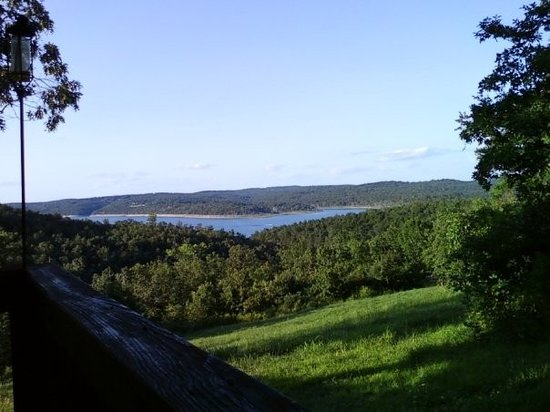Mountain Home, AR: The view from Fred's deck.
