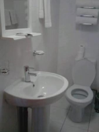 Britannia Inn Hotel: Spotless bathroom