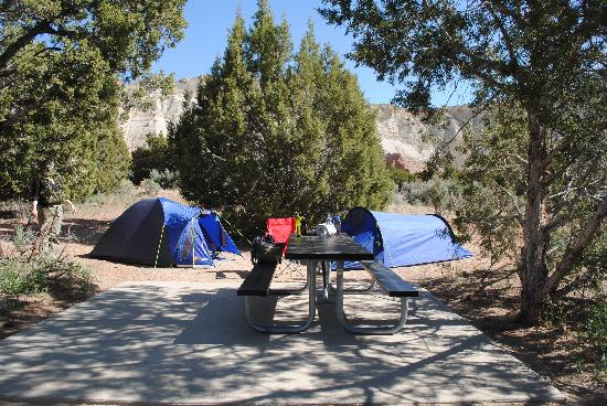 Kodachrome Basin State Park: Camp!