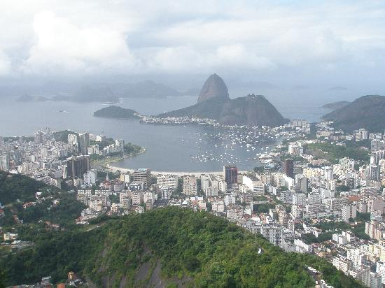Rio de Janeiro, RJ: Вид на Рио