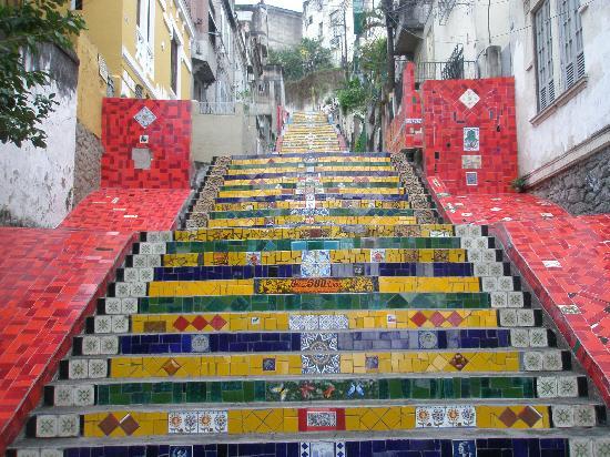 Rio de Janeiro, RJ: Лестница Селарона