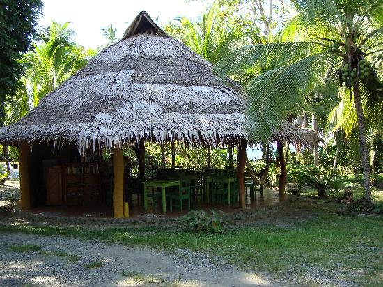 Hotel La Diosa: The palapa where we serve breakfast