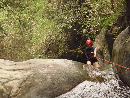 Del Sur Adventures: First Rappell Half day