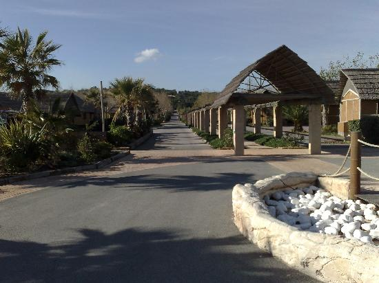 Kon Tiki Riviera Villages : l'avenue principale du camping
