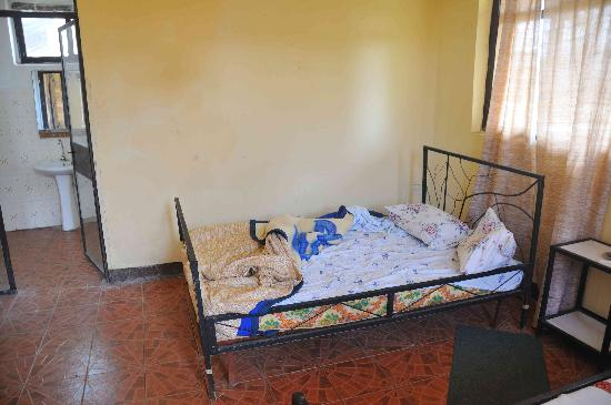 Turmi, Etiopia: My room after a wonderful night's sleep