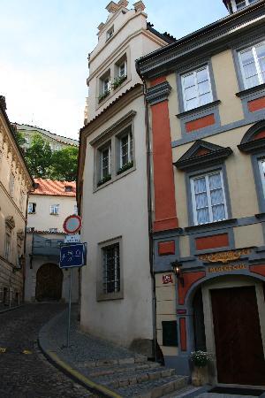 Alchymist Prague Castle Suites: Entry