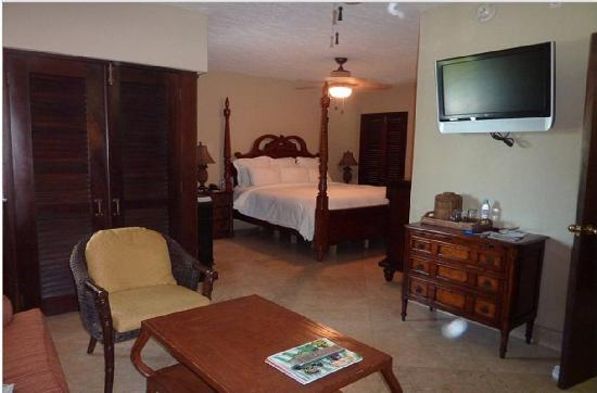 Renaissance St. Croix Carambola Beach Resort & Spa: renovated studio room in building 5