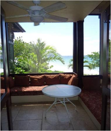 Renaissance St. Croix Carambola Beach Resort & Spa: our patio in building 5