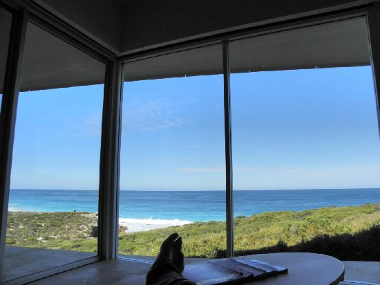 Southern Ocean Lodge: view