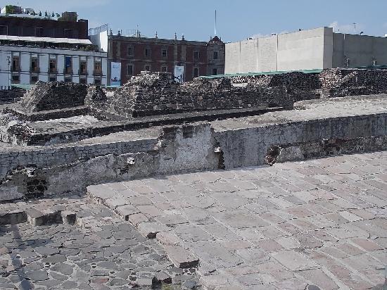 Museo del Templo Mayor: 遺跡の外観