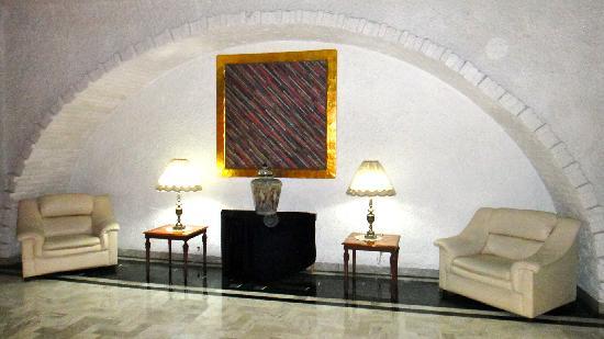 Hotel Aristos Puebla: lobby..