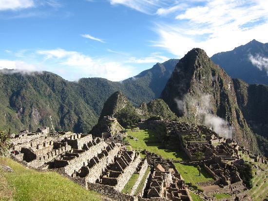 Machu Picchu - early morning
