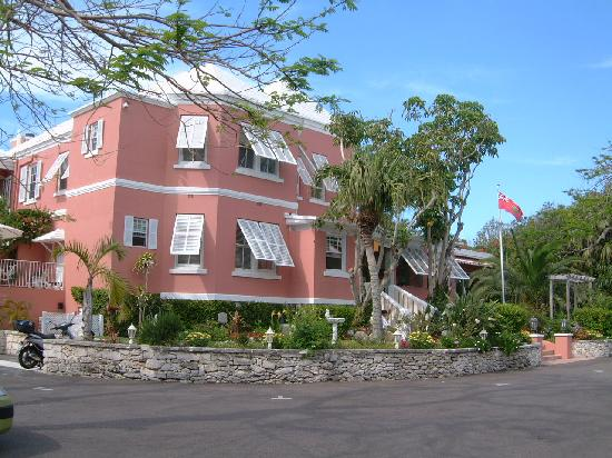 Royal Palms Hotel: The main building