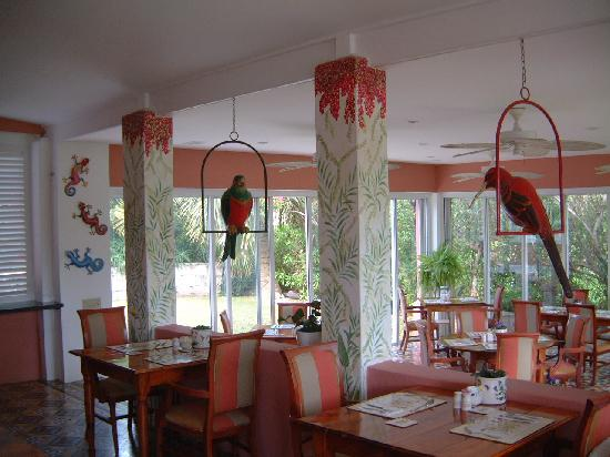 Royal Palms Hotel: breakfast area