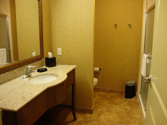 Hampton Inn Deming: Bathroom at Hampton Inn