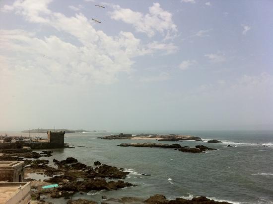 Al Fath Hotel: vue de la terrasse
