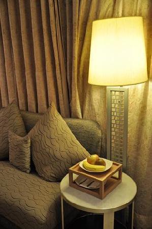 City Suites Taipei Nanxi: ウェルカムフルーツ