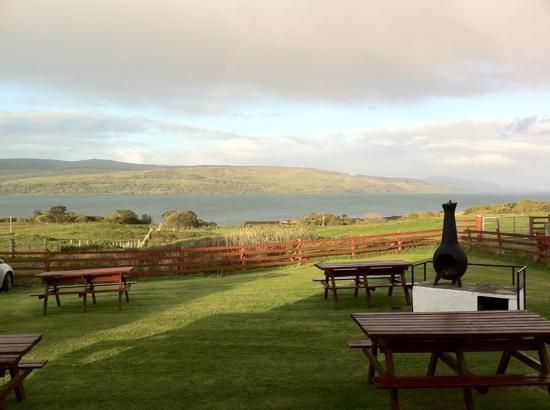 Arle Lodge: BBQ area