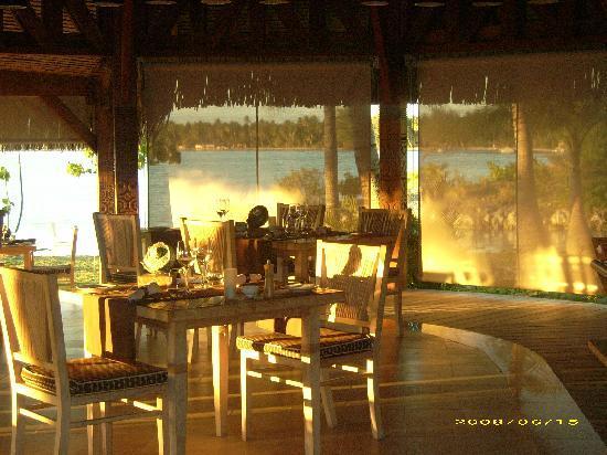 The St. Regis Bora Bora Resort : ristorante