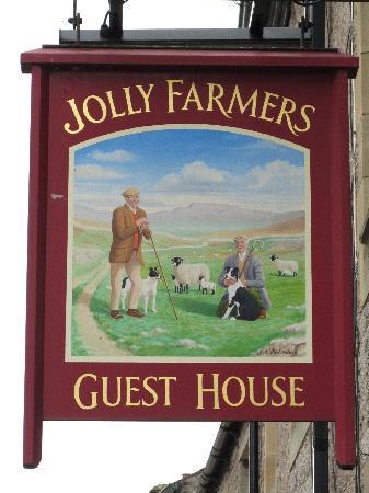 Jolly Farmers: The sign