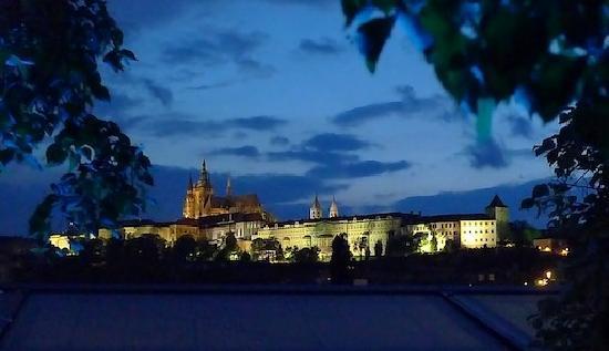 Prague, Czech Republic: A la caida de la noche