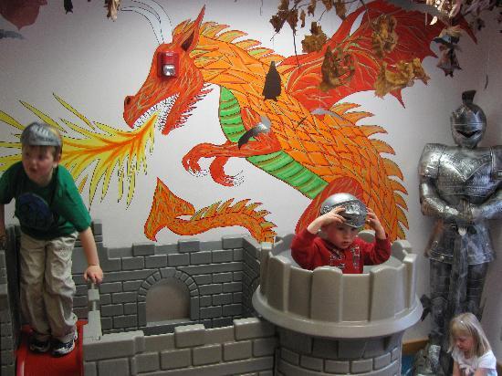 MWV Children's Museum: The Castle Room